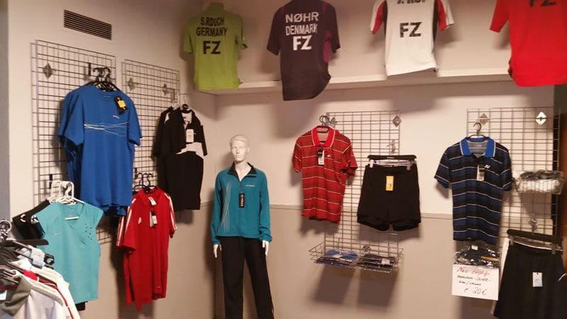 Unser Badminton-Shop